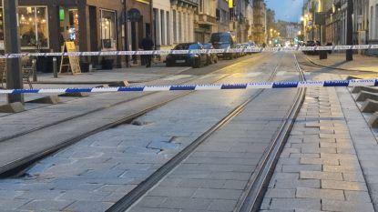 Geen verkeer mogelijk op Antwerpse Sint-Pietersvliet door wegverzakking