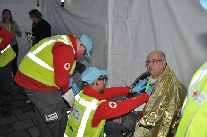 Oefening incident rampenoefening Albert Schweitzer ziekenhuis Dordrecht