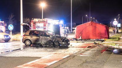 Motorrijder in levensgevaar na crash op N60 in Leupegem