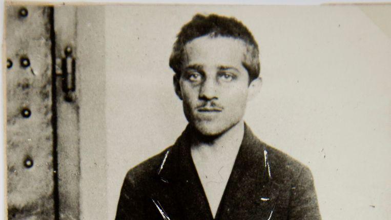 Gavrilo Princip na de aanslag.