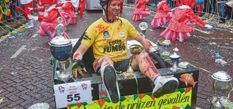 Ook streep door carnaval Kuussegatters in Veghel