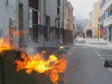 Opnieuw nacht vol branden en vernielingen op Curaçao