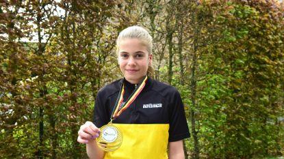 Xanthe meteen Belgisch kampioen bij haar eerste duatlon