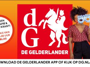 Kom tijdens de Vierdaagsefeesten op de voorpagina van De Gelderlander