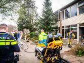 Brandweer redt vrouw uit brandend huis in Eindhoven
