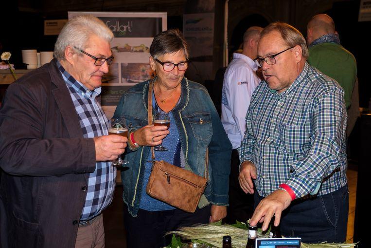 Jan De Troetsel stelt zijn bieren voor.