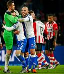 Robbin Ruiter als speler van FC Utrecht tégen PSV.