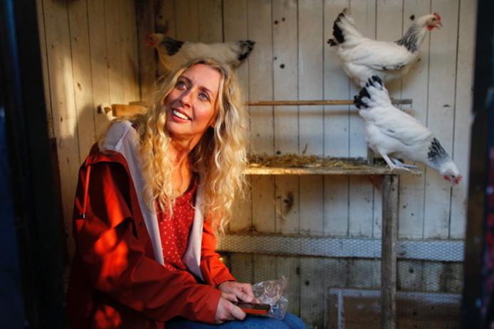 In Gek van Geluk kruipt Plien van Bennekom in de rol van single moeder Lena.