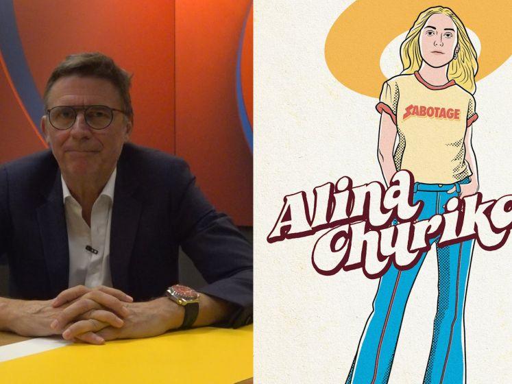 Erik Van Looy stelt de jongste kandidaat voor: Alina 'De Mol' Churikova