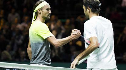 Federer gunt Bemelmans drie spelletjes in Rotterdam, Goffin moeiteloos naar kwartfinales