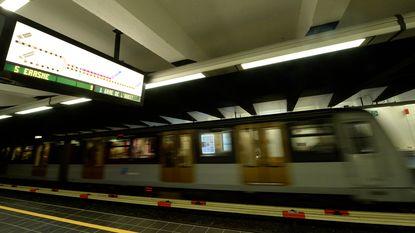 Alle in- en uitgangen van Brusselse metrostations vanaf morgen weer open