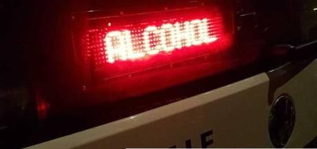 Onrustige stapavond in Bunschoten eindigt met boetenregen en aanhoudingen