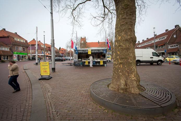 Het Marktplein in De Geitenkamp.