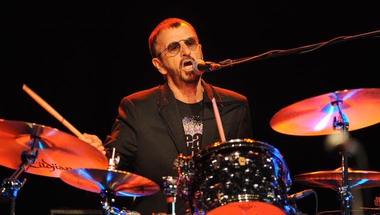 Ringo Starr in juni vorig jaar. Beeld AFP