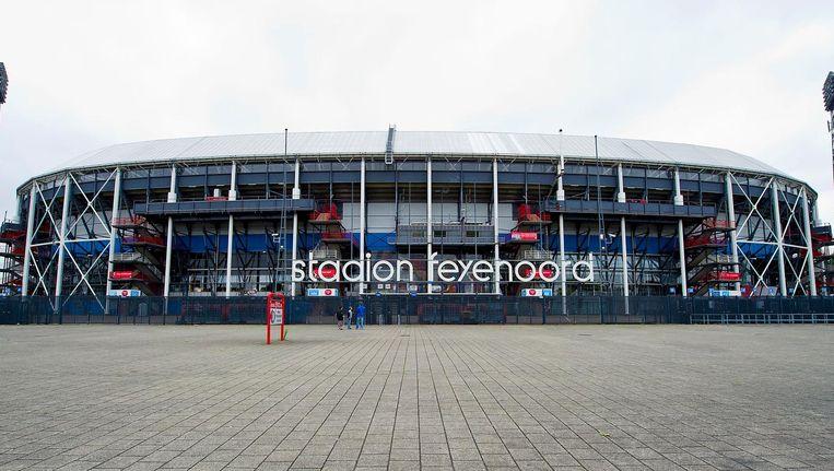 Stadion van voetbalclub Feyenoord Beeld anp