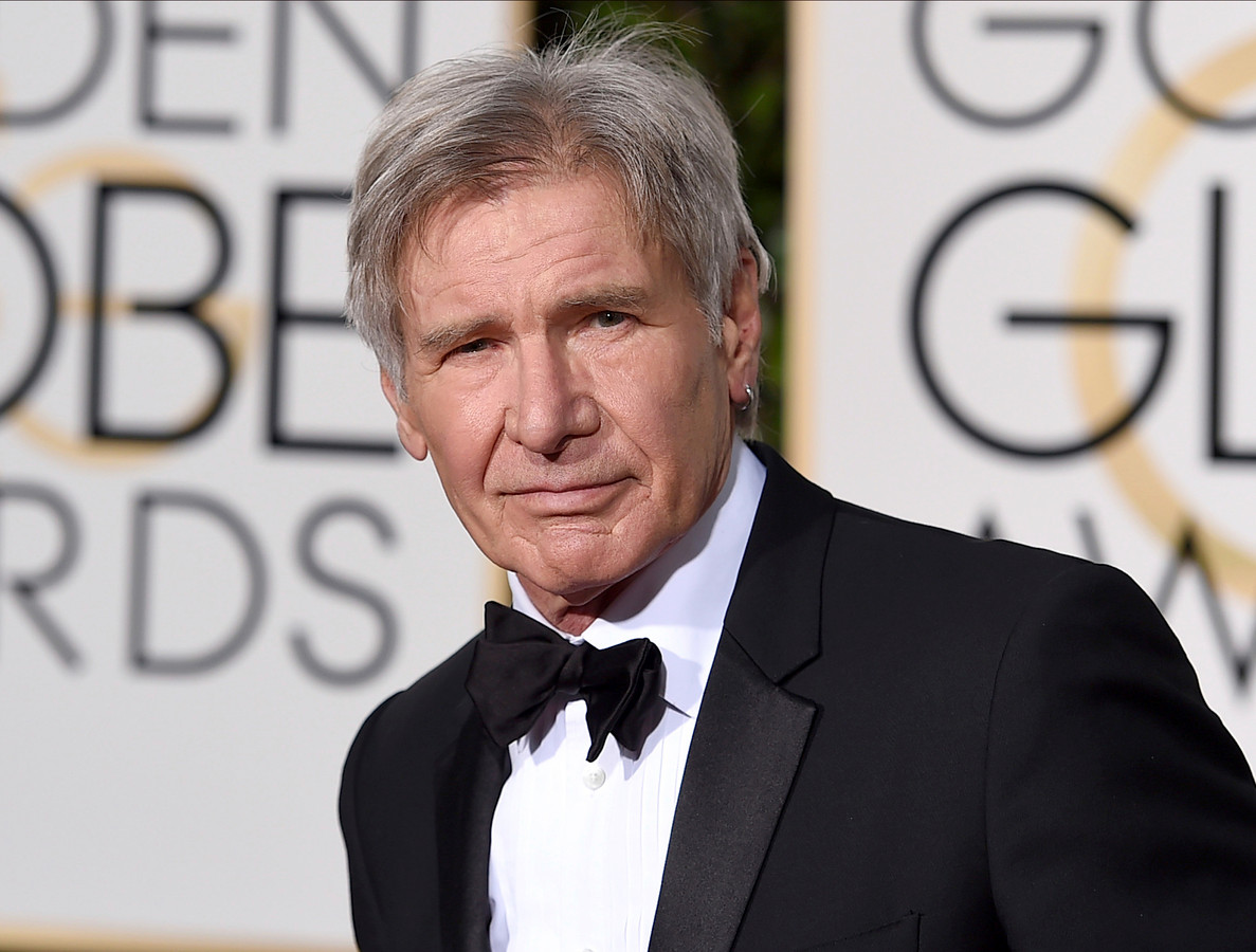Harrison Ford botst me...