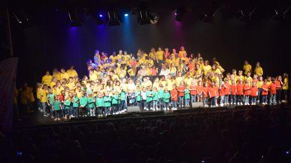 Leerlingen VBS Borsbeke schitteren tijdens popconcert