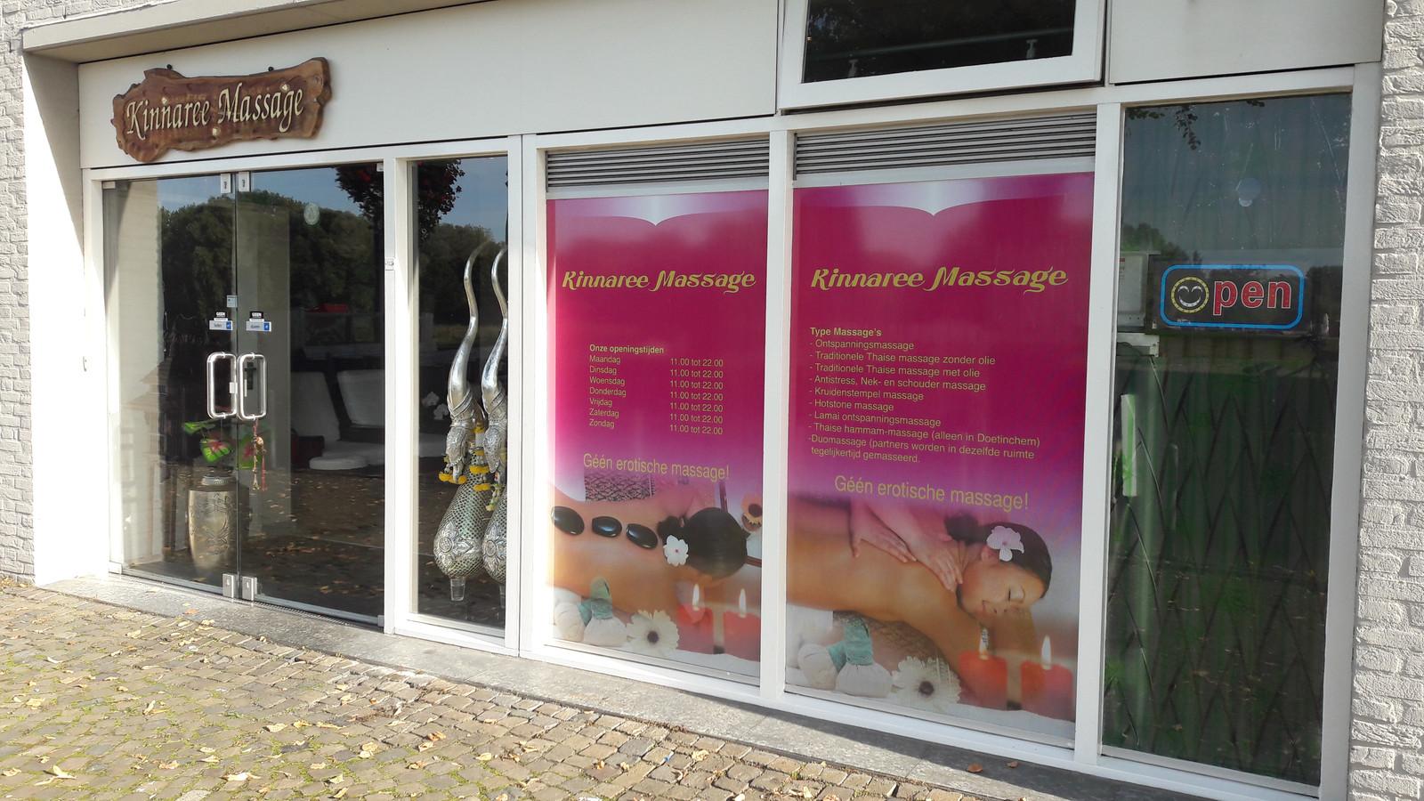 Kinnaree Massage aan de Rijnkade in Arnhem.