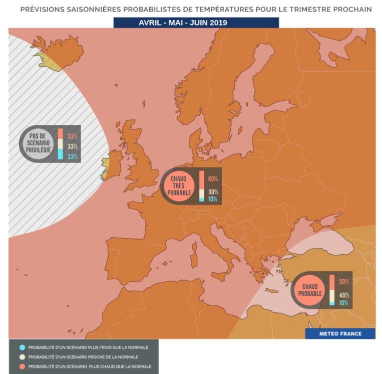 """Het gebied waar de temperatuur het gemiddelde """"heel waarschijnlijk"""" zal overstijgen."""
