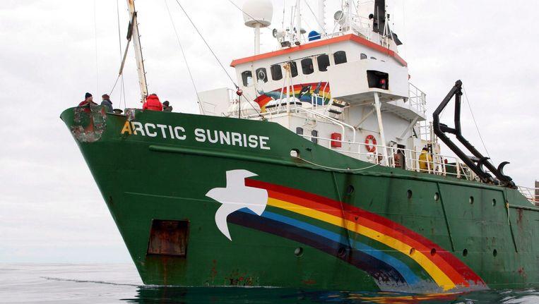 De Arctic Sunrise Beeld EPA