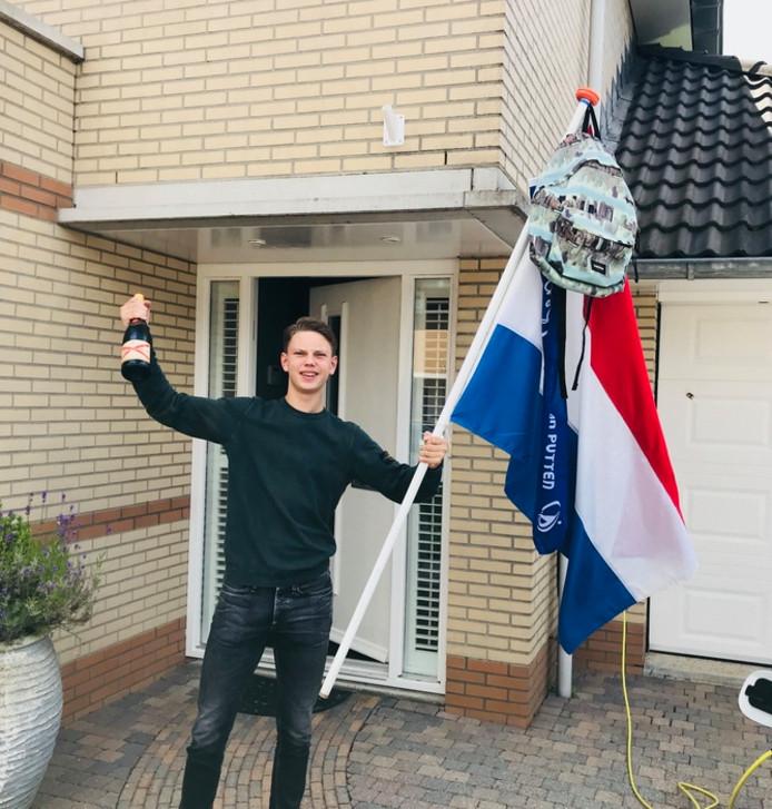 Kilian Ponsen (17) uit Spijkenisse.