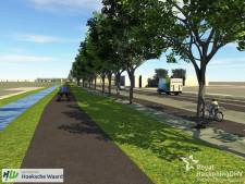 Twijfel over inpassen fietspad tussen Maasdam en 's-Gravendeel