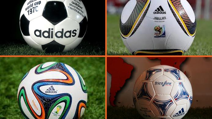 Bekende WK ballen: welke was de mooiste? | Buitenlands