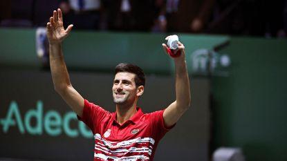 """Novak Djokovic loodst Servië voorbij Japan in Davis Cup: """"Elke zege geeft ons meer ademruimte"""""""