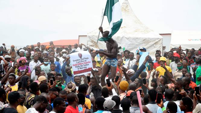 Al minstens 15 doden bij manifestaties tegen politiegeweld in Nigeria
