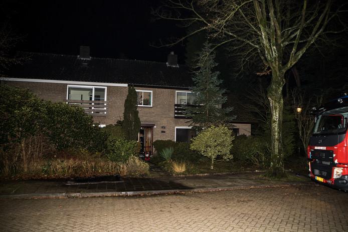 Brand in keuken Tilburg