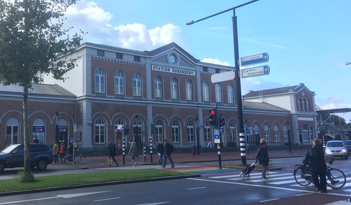 Station Dordrecht, foto ter illustratie.