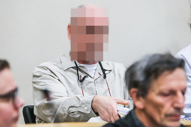 Renaud Hardy voor het Hof van Assisen in Tongeren.