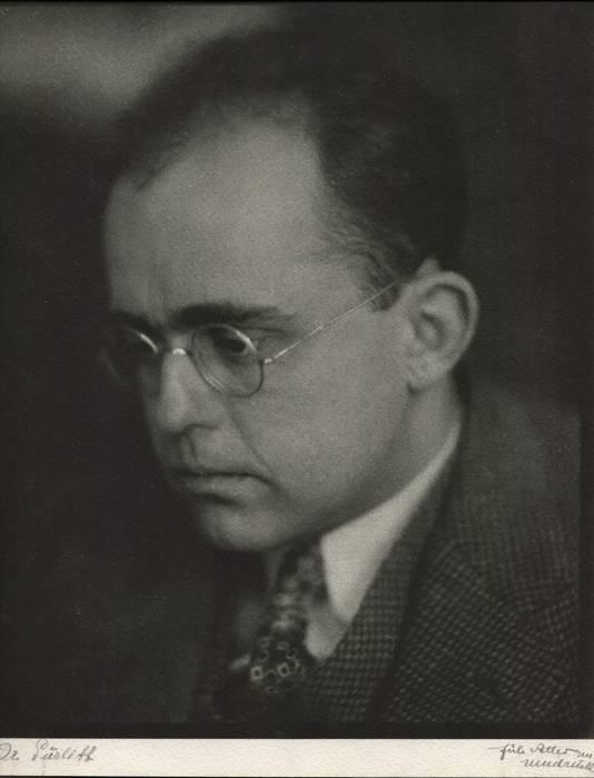 Hildebrand Gurlitt, de man die als kunsthandelaar voor Hitler werkte en de Gurlitt-collectie verzamelde.