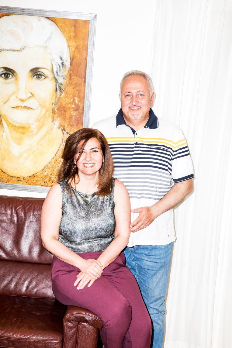 Nour Saadi en Saleem Bachara. Beeld Marie Wanders