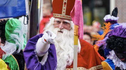 Sinterklaas en zwarte pieten voeren twee shows op in De Corren