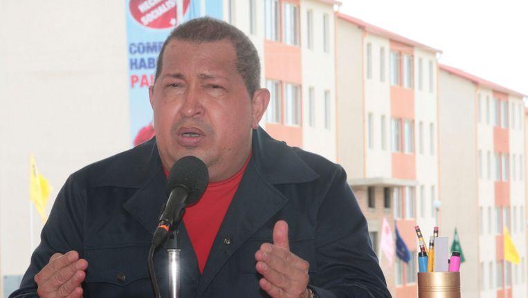 Hugo Chavez. Beeld REUTERS
