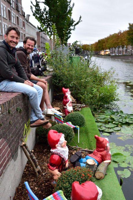 Deze week wordt de Houtmansgracht in één klap een stuk groener