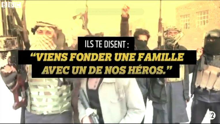 De Franse overheid heeft woensdag een anti-jihadvideo op de nieuwe website stop-jihadisme.gouv.fr gezet. Beeld -