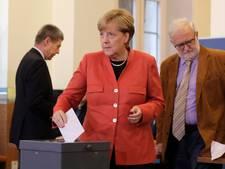 Opkomst Duitse verkiezingen voorlopig gelijk aan 2013