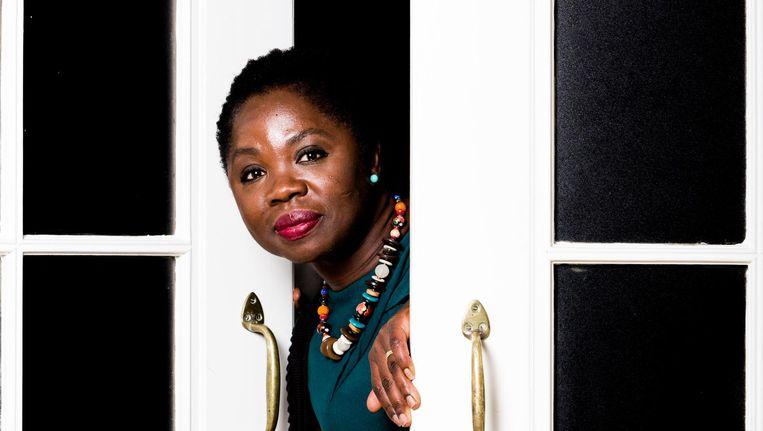 De Ghanese Nederlander Amma Asante staat op plek 36 van de verkiezingslijst van de PvdA. Beeld Freek van den Bergh / de Volkskrant