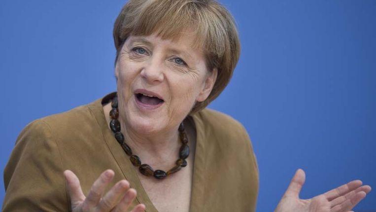 Merkel voerde tegen haar zin het minimumloon in.