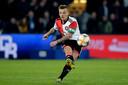 Jordy Clasie in actie namens Feyenoord vorig seizoen.