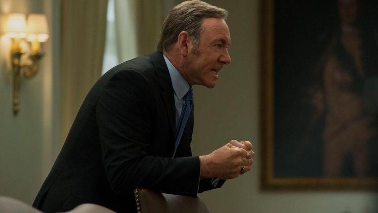 Frank Underwood, gespeeld door Kevin Spacey. Beeld David Giesbrecht