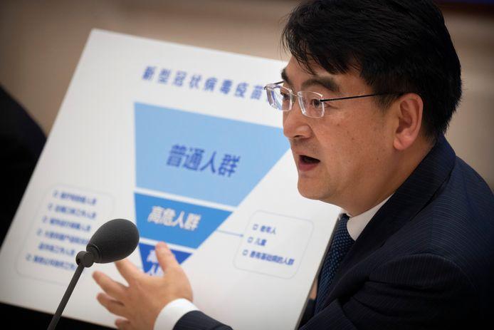 Zheng Zhongwei licht de grote vaccintest toe.