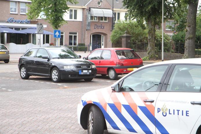 Maandagmiddag werd in Deurne een zwarte Audi in beslag genomen in verband met de beroving in Deurne.