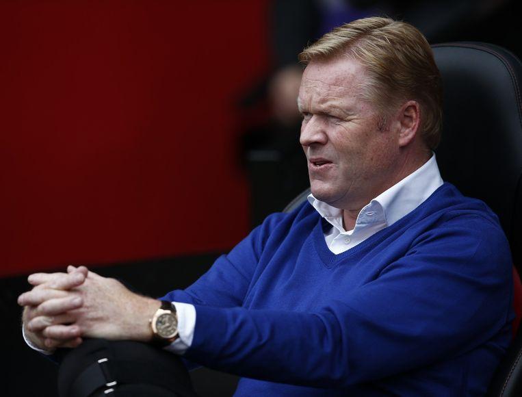 Southampton-manager Ronald Koeman. Beeld anp