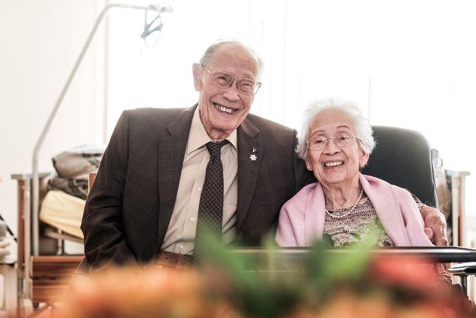 Harry en zijn vrouw An Wijler.