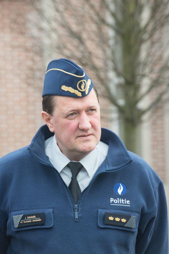 Politiechef Joost Duhamel