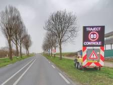 Let op! Trajectcontrole op Bisschopsweg bij Bunschoten bijna in werking