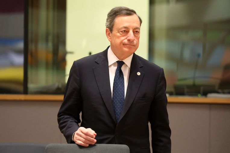 ECB-president Mario Draghi Beeld ANP